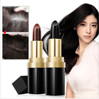 Portable Temporary INSTANT HAIR DYE TOUCH UP COLOR STICK HIDE GREY/White 4.5g