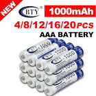 lycamobile usa recharge - 4-20X BTY AAA Rechargeable Battery Recharge Batteries 1.2V 1000mAh Ni-MH US