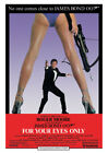 James Bond - For Your Eyes Only - Ready Framed Canvas 85x120cm £79.99 GBP on eBay