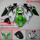 Multi-Colored Injection Fairing Bodywork Kit For Kawasaki Ninja ZX6R 2013-2017