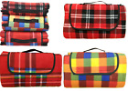 Large Foldable Waterproof Fleece Picnic Camping Blanket Travel Beach Rug TY/9268