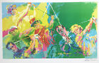 "LeRoy Neiman  ""LEGENDS OF GOLF"" Golf Champs HAND SIGNED LITHOGRAPH - art PALMER"