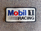 Vintage M1 obil 1 Racing Gas & Oil Station Attendant Shirt jacket mesh hat patch
