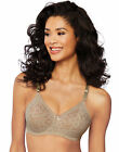 Bali Lace 'n Smooth Underwire Bra Womens Seamless Full Coverage Stretch Cup 3432