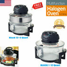 1200W 17 Quart Countertop Wave Oven Halogen Convection Cooker Air Toaster Fryer