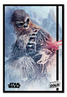 Solo A Star Wars Story Chewie Blaster Poster Framed Cork Pin Board With Pins