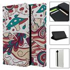 Abstract Geometric Pattern Full Flip Case Cover For Mobile Phone - S5837