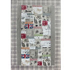 Tagesdecke Patchwork Old England Great Britain Bettüberwurf 250x250 Doppelbett