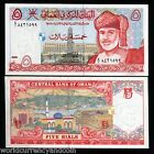 OMAN 5 RIALS P35 1995 UNIVERSITY CLOCK TOWER UNC GULF CURRENCY MONEY BILL NOTE