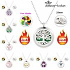 Stainless Steel Locket Necklace Fragrance Essential Oil Aromatherapy Diffuser $3.69 USD on eBay