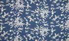 Chambrai Embroidered Cotton Denim Fabric Material - 021