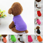 Various Pet Puppy Summer Shirt Small Dog Cat Dress Clothes Vest Apparel Costume