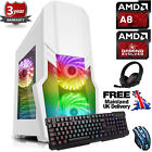 Ochw Ultra Fast Amd Quad Core Bundle8 8gb 1tb Gaming Pc Computer Windows 10 Gfw