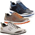 Ecco Mens Biom Hybrid 2 Gore Tex Waterproof Leather Golf Shoes