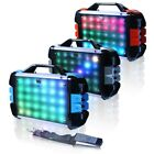 "TopTechAudio Fully Amplified Portable 1000 Watts6.5"" Bluetooth Speaker led light"