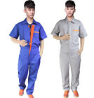 Men Women Boilersuit Coverall Overall Workwear Tuff Work Jumpsuit Mechanic Work