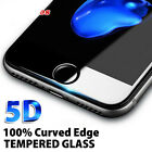 For iPhone X Plus 8 Plus - 5D Full Cover Curved Tempered Glass Screen Protector