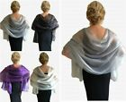 Kyпить Exquisite Fine ORGANZA Shawl for Wrap for WEDDINGS Evening and PARTY TIME! на еВаy.соm