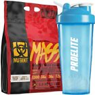 PVL MUTANTE MASSA Weight Gainer 6.8kG+ NERO SHAKER