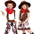 Cowgirl or Cowboy Toddler Fancy Dress Wild Western Kid Childs Costume 2 - 3 Year