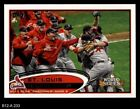 2012 Topps #233 St. Louis Cardianls Postseason Cardinals NM/MT