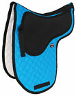 Horse Quilted ENGLISH SADDLE PAD Trail Cotton Jumping Contoured Gel 729192