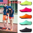 USA Women Men Skin Water Shoes Beach Socks Yoga Exercise Pool Swim On Surf Slip