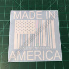 Made in America Barcode Flag 1776 Tactical Second Amendment 2A Decal Sticker