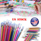 US 48x Gel InK Pens Glitter Multifunction Drawing Painting Graffiti Marker Pens