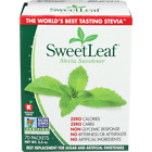 Sweet Leaf Natural Stevia Sweetener 70 Packets 1.25 oz SweetLeaf ZERO CALORIES