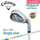 for Ladies CALLAWAY GOLF JAPAN ROGUE STAR SINGLE IRON #6 or AW 2018 Model 081806