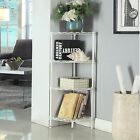 4-Tier Corner Shelf Shower Rack Bookcase Kitchen Storage Shelves Organizer