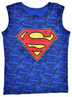 Внешний вид - Toddler Boys Sleeveless Superman Shirt - Blue