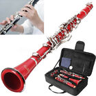 Clarinet 17 Keys ABS Body+Reed Best For Beginner Instruments Music Education