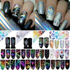 Nail Foils Transfer Stickers Decals Holographic Laser Starry  Decoration