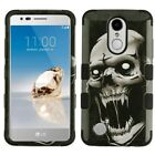 for LG Rebel 3 LTE L157BL Shockproof Hybrid TUFF Case Rugged Impact Armor Cover