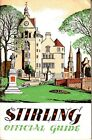 Stirling Official Guide Ed J Burrow Scotland Old Ads Small Book