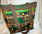 John Deere duffle diaper bag handbag tote purse personalize baby shower gift