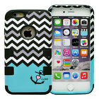 For Apple iPhone 6 6S 7 Plus Case Hybrid Rubber Shockproof Armor Hard Soft Cover