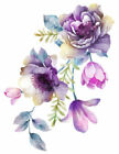 Внешний вид - Shabby Pastel Watercolor Flower Floral Bouquet Transfers Waterslide Decals FL439