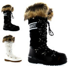 Ladies Tecnica Original Moon Boot Monaco Faux Fur Warm Ski Snow Boots All Sizes