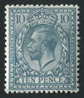 SG394wi 10d Turquoise-Blue, WMK INV, Fine Unmounted Mint