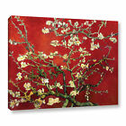 Vincent van Gogh 'Red Blossoming Almond Tree' Canvas Multi