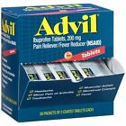 Advil (50 Packets of 2 caps) Pain Reliever/Fever Reducer Coated Tablet EXP 05/20