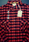 Field&Stream Men Plaid MidWeight Cotton Flannel Shirt Outdoor Fishing MSRP$49.99