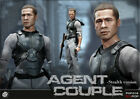 POPTOYS 1/6 Mr Smith&Mrs Smith Brad Pitt Angelina Jolie AGENT COUPLE FIGURE TOYS