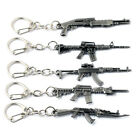 Keychain Military ​Pistol Airplane Tank Gun Model Weapon Metal Keyring Key Chain
