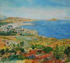 Coastline Kreta Chania 1943 Picture Canvas Art Print