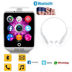 Wireless Bluetooth Smart Watch Blurtooth Headset Phone Mate for Samsung LG Nexus