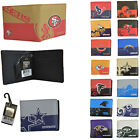 NWT NFL Pick Your Teams Men Women Synthetic Leather Bi-Fold Wallet - Licensed on eBay